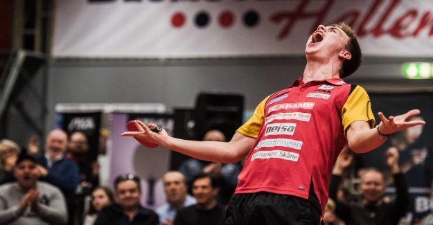 Eslöv, sweden, Swedish champion in table tennis