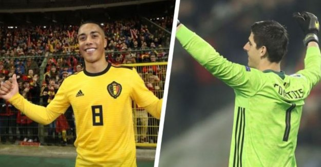 European star in the making, but also new blow in his face: foreign media praised Tielemans and hard for Courtois