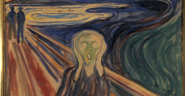 Exhibition of the Scream coincides with the Brexit: A coincidence