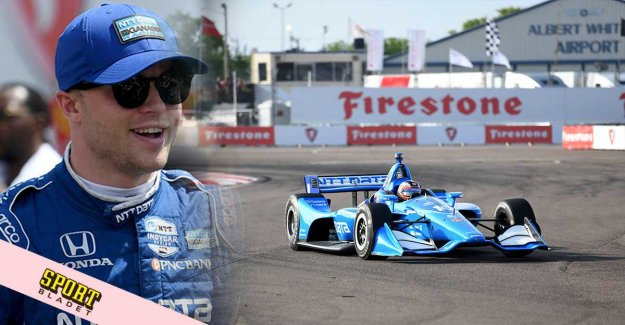 Felix Rosenqvist is hailed after his debut in the IndyCar