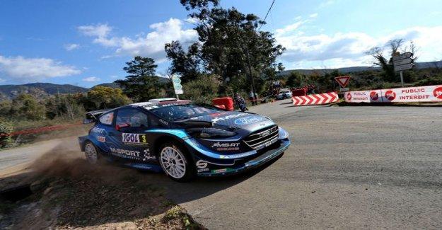 Finnish driver plow Corsica - won struggle intensifies