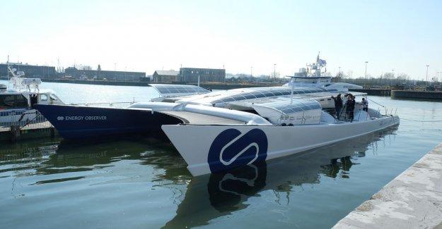 First waterstofschip in the world does Antwerp