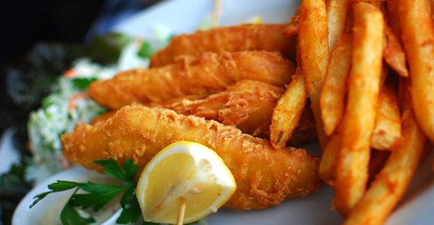 Fish and chips – loved English classics