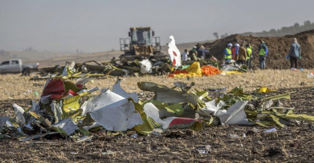 Flight recorders of the crashed Boeing found