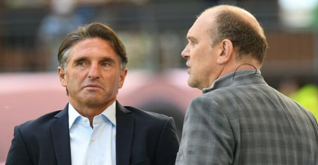 Football-Bundesliga : Bruno Labbadia at the end of the season in Wolfsburg