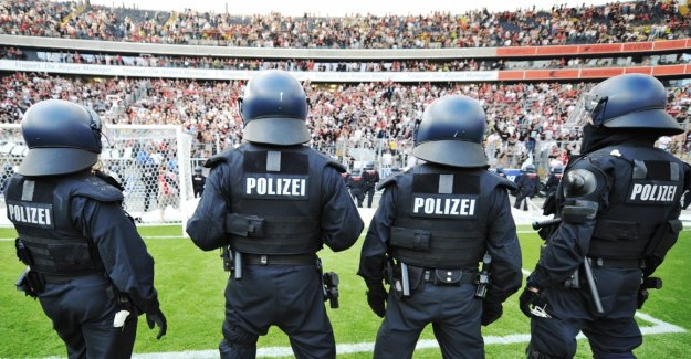Football clubs can be involved in police costs