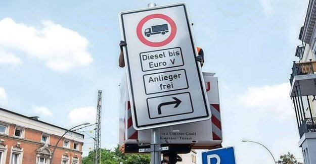 For clean air in Berlin : The list of Diesel-driving bans and speed limit of 30 km of roads
