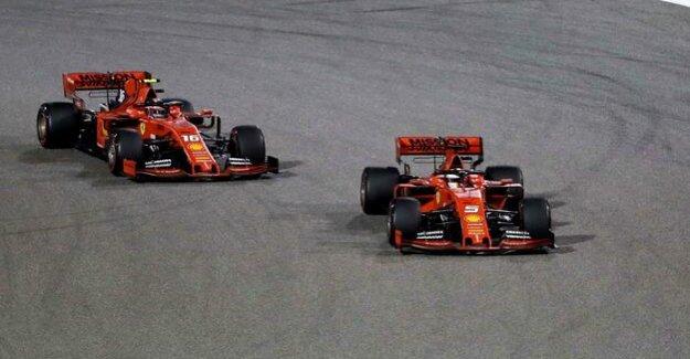 Formula 1 in Bahrain : Vettel and Leclerc experience in their Ferraris a bitter race