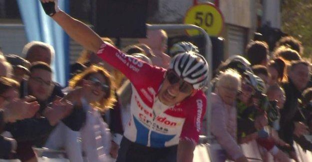 Four days after his hard crash in Nokere Curonian win Van der Poel GP Denain