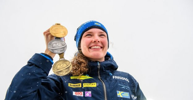 Four in the last race – but Hanna Öberg the best in the whole world CUP