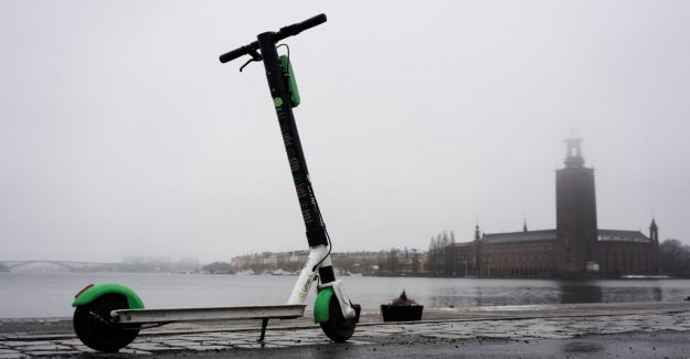 Four out of ten stockholmers like elsparkcyklar