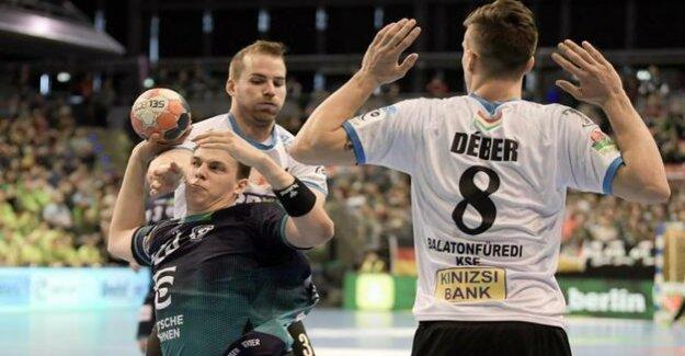 Füchse Berlin can still win : 36:23 in the EHF-Cup against Balatonfüredi