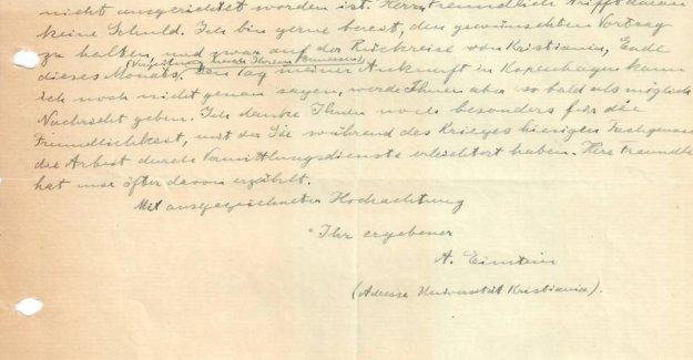 Game fund: 100-year old letters found in the basement
