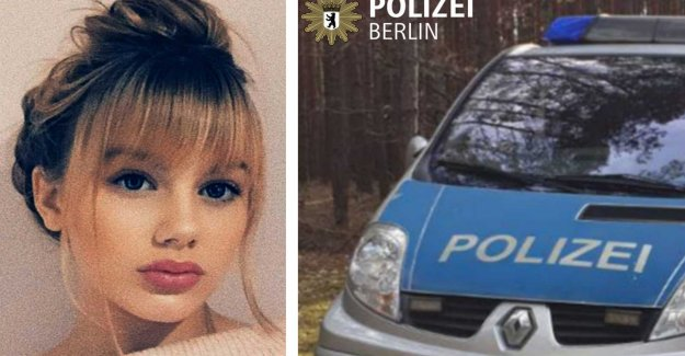 German police chasing a 15-year-old Her killer