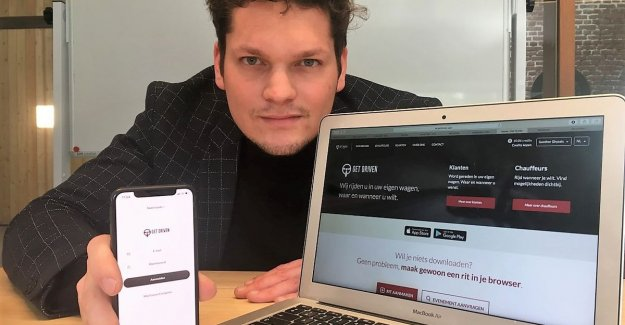 Gert Verhulst and Sergio are driving in your own car: students bring all 1.000 business people to work