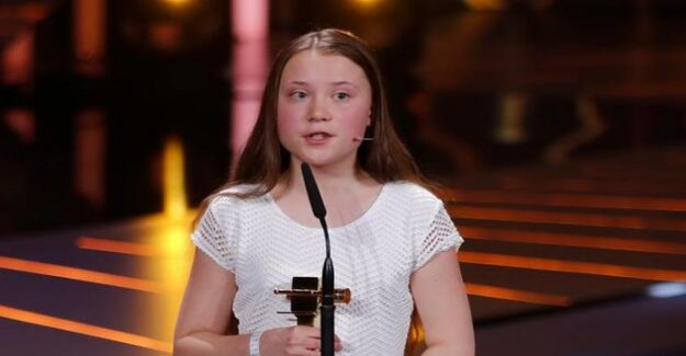 Golden camera for Greta Thunberg : We are at a crossroads of history