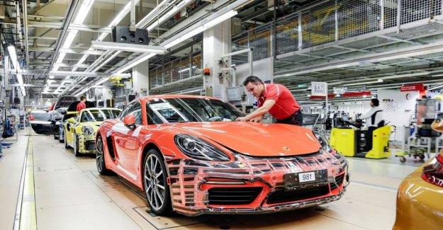 Golden times: 25.000 Porsche employees get kanonhøj bonus