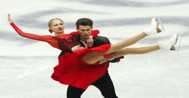 Gorgeous! Juliet Turkkila and Matthias Versluis finals as soon as the first figure skating world championship in