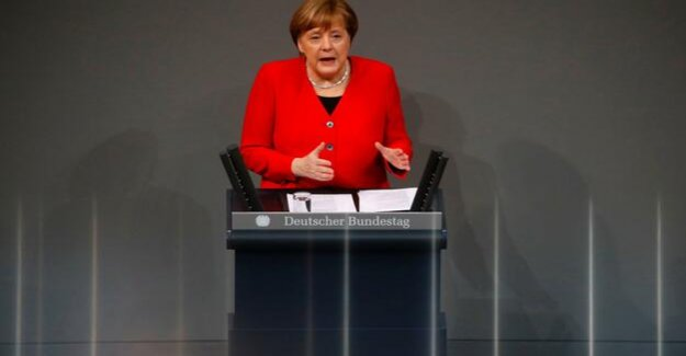 Government statement ahead of EU summit : Merkel asks May for Brexit-shift condition
