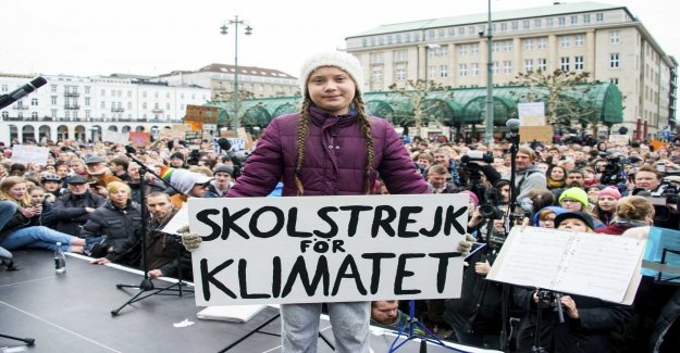 Greta Thunberg nominated for frihetspris