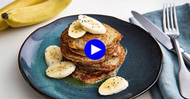 Guiltfree pleasure: these pancakes contain no dikmaker