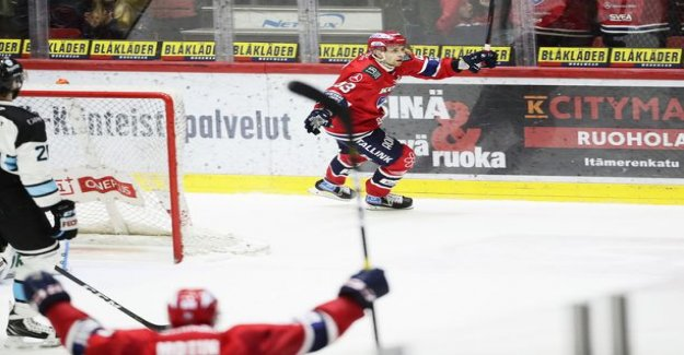 HIFK:n ace-high Sakari Salminen for the first championship is - struck from the air the winning goal: I Shouted that there is
