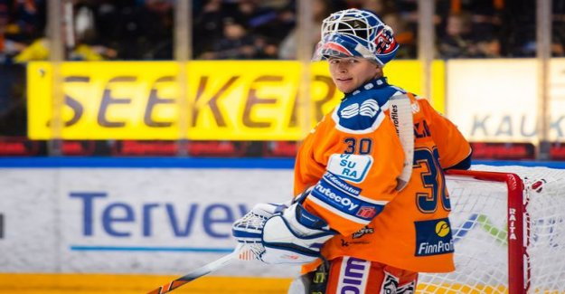 HPK's star goalkeeper displace Their duo career in place from the axe breast veskarilta cryptic acknowledgement: you can look it up online