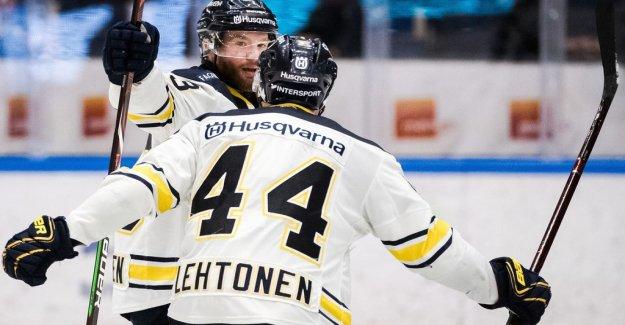 HV71 one in Karlstad – Figren hero
