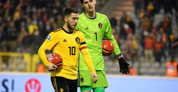 Hazard can (again) not to let Courtois to tease