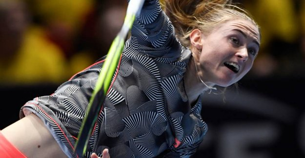 Hviderusser ready for Wozniacki-meeting Friday