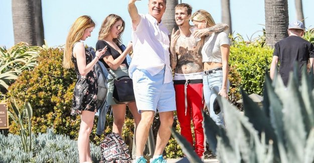 IN THE PICTURE. Justin Bieber looks remarkably happier during the holiday