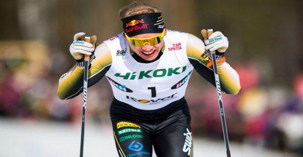 Iivo Niskanen won overwhelmingly SM-gold - risto matti Hakola seemed to search for the final sprint: Horny end