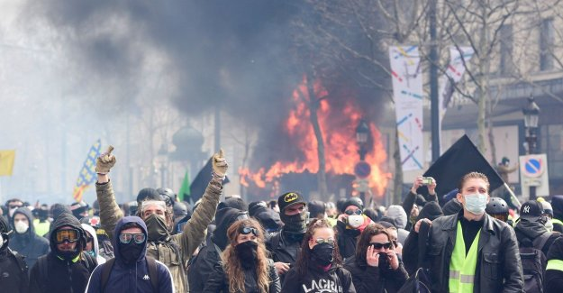 In summary all 23 prison sentences handed out for the destruction of the past weekend in Paris
