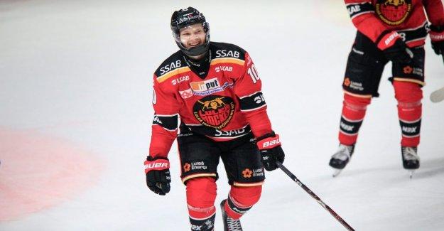 Inspired Emanuelsson settled late in Luleå