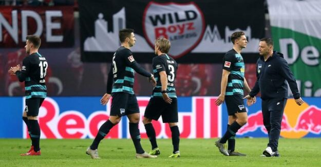 Involuntarily against RB Leipzig, Hertha BSC, the mentality is missing
