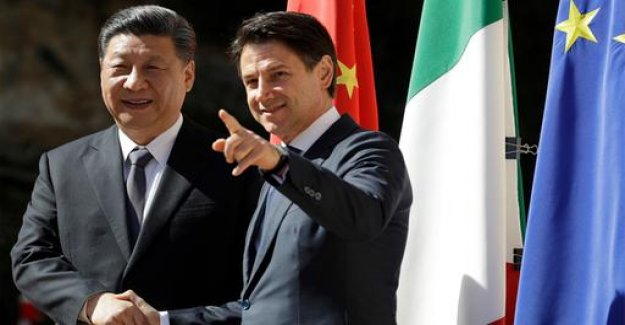 Italy under a silk-signed road agreement with China