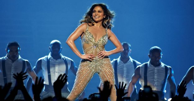 J. Lo shows the types in stripper film