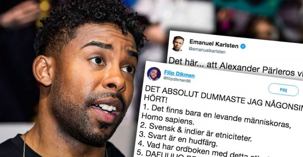 John Lundvik cut for the statement about the n-word