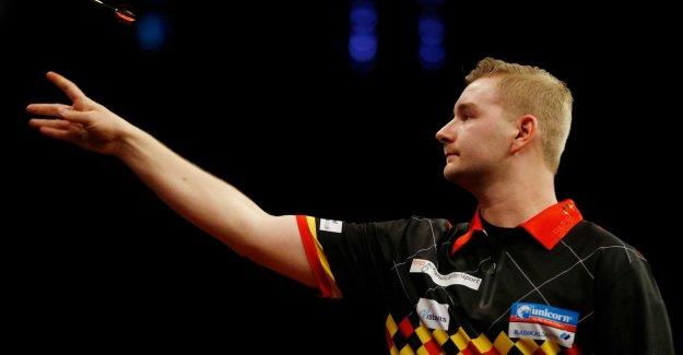 Just no quarter-final for Van den Bergh at the German Darts Championship