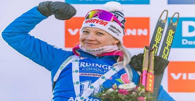 Kaisa Mäkäräinen is by far the season's richest Finnish skier! Lotso the account leaving the other brightly