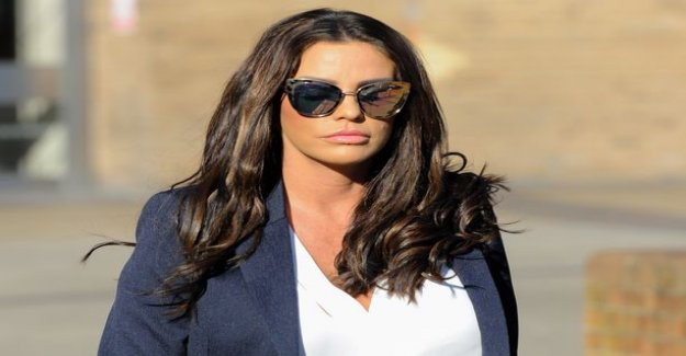 Katie Price, 40, of losing weight works weird results - can fit children's clothing
