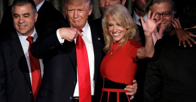 Kellyanne Conway defends Trump after her husband complete with ground alike