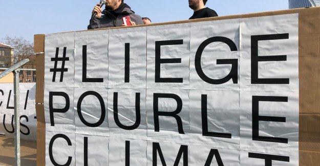 Klimaatmars in Liege attracts about 7,000 demonstrators
