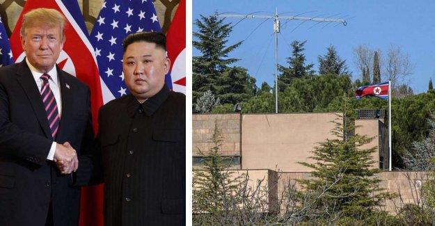 Knivmän stormed the Korean embassy – gave the computers to the FBI