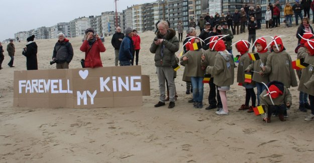 Koksijde says goodbye to 'his' Sea King: Every inhabitant wears that helicopter on hands