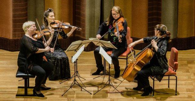 Konsertrecension: Responsive but sprawling games of the vertavo quartet