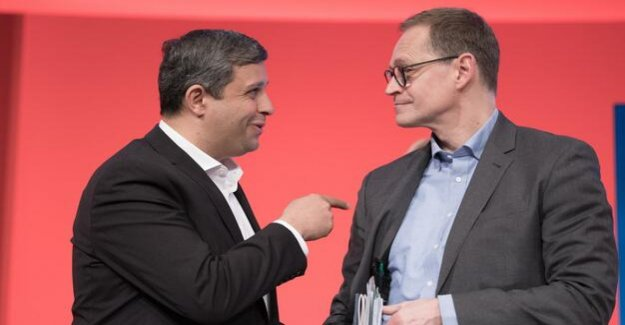Land Congress in Berlin : SPD is looking for attitude towards the expropriation of the question