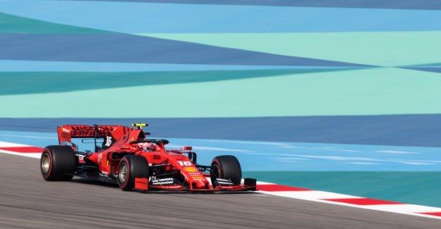 Leclerc beats Vettel and Hamilton in Qualifying