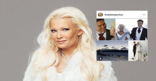 Linda Lampenius celebrate their anniversary - salahäissä wasn't even Ulla-mother: See rare images