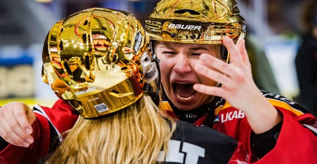 Luleå Swedish champion – crushed Linköping